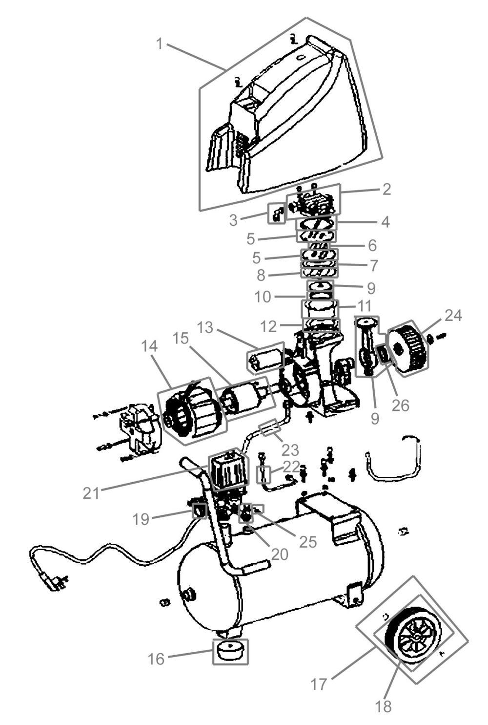 g de kompressor 210 8 24 ersatzteile industriewerkzeuge ausr stung. Black Bedroom Furniture Sets. Home Design Ideas