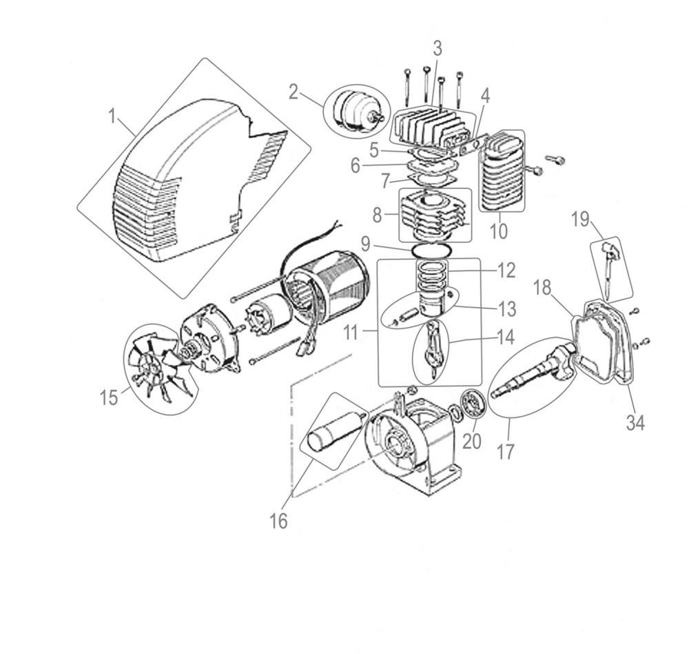 güde kompressor ersatzteile