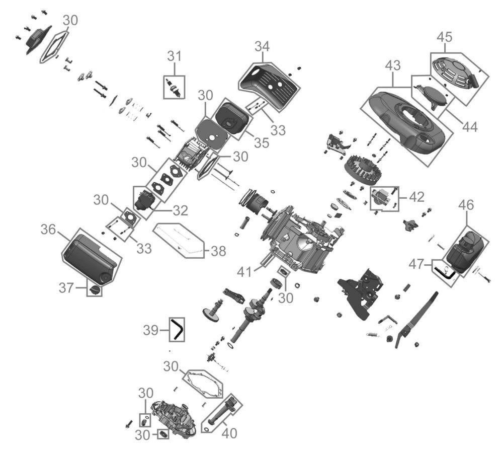 g de rasenm her big wheeler 508 a serie 43663 ersatzteile. Black Bedroom Furniture Sets. Home Design Ideas