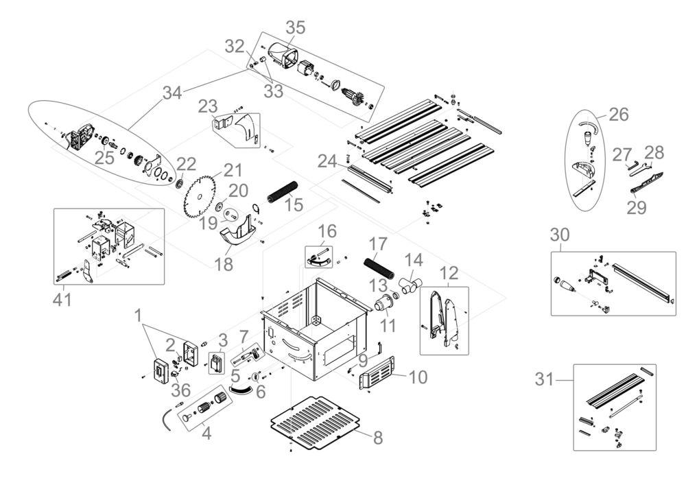 g de tischkreiss ge tk 2500 serie 61046 ersatzteile. Black Bedroom Furniture Sets. Home Design Ideas