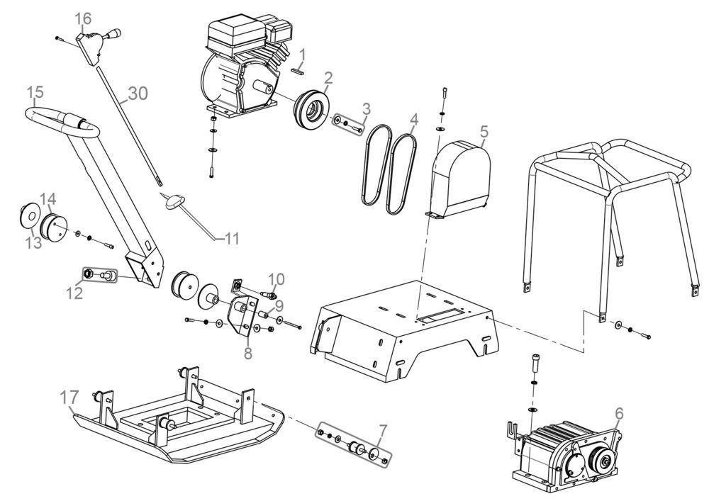 g de r ttelplatte grp 160 serie 65505 ersatzteile. Black Bedroom Furniture Sets. Home Design Ideas