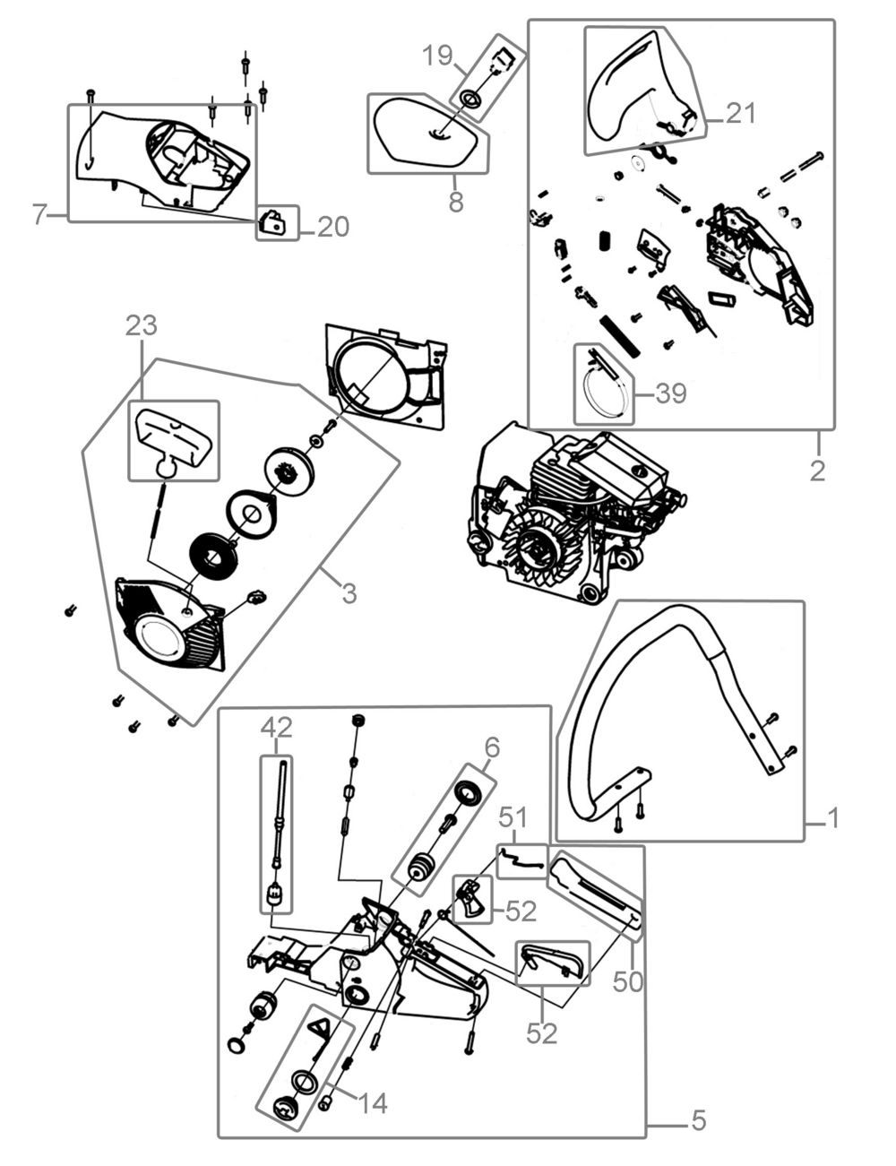 Benzinschlauch passend Güde KS400B Motorsäge