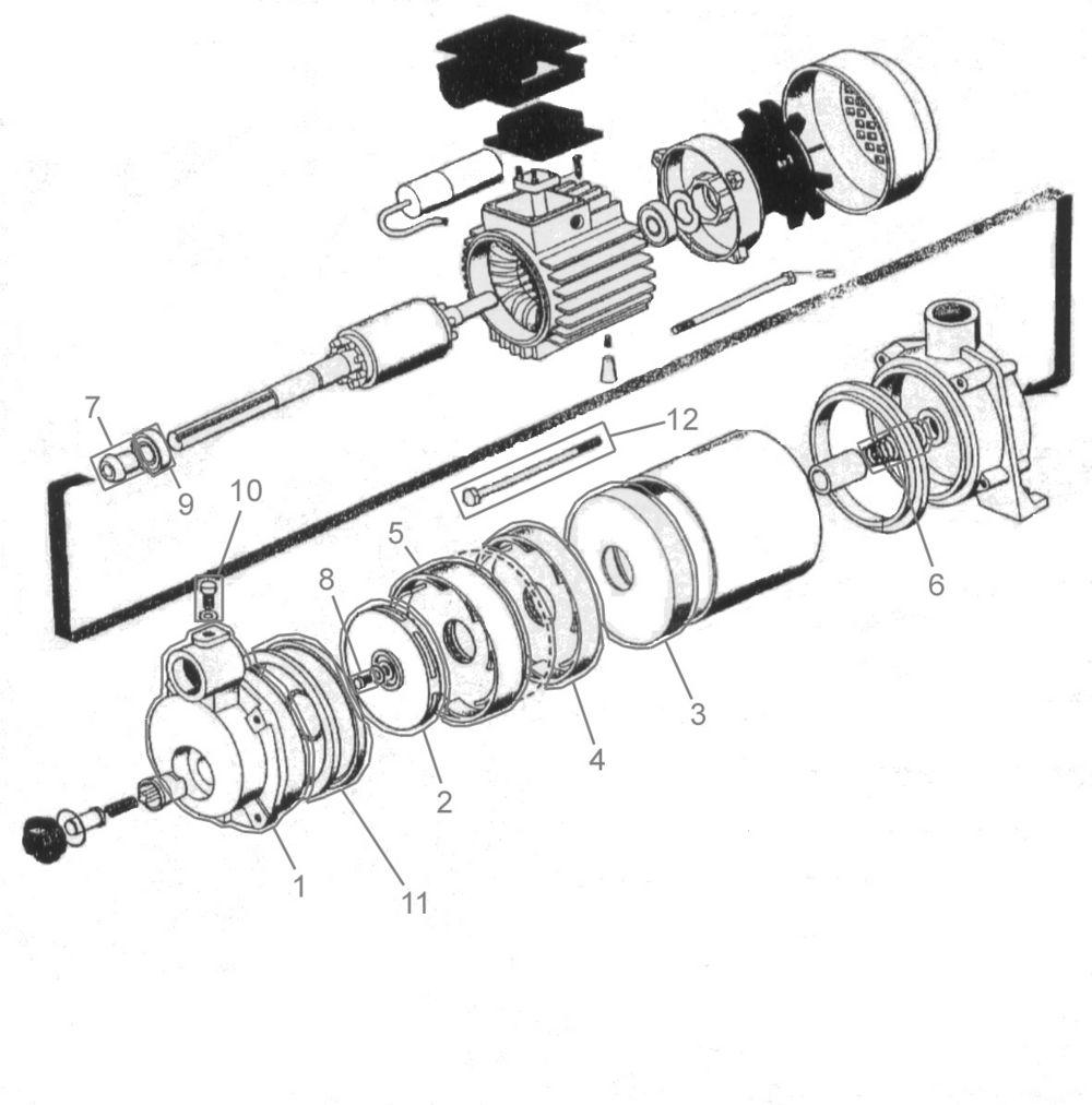 güde gartenpumpe mp 120/5a/gj serie 01 ersatzteile