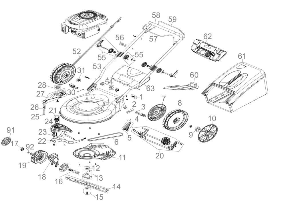 g de rasenm her big wheeler trike 565s serie 01 ersatzteile. Black Bedroom Furniture Sets. Home Design Ideas