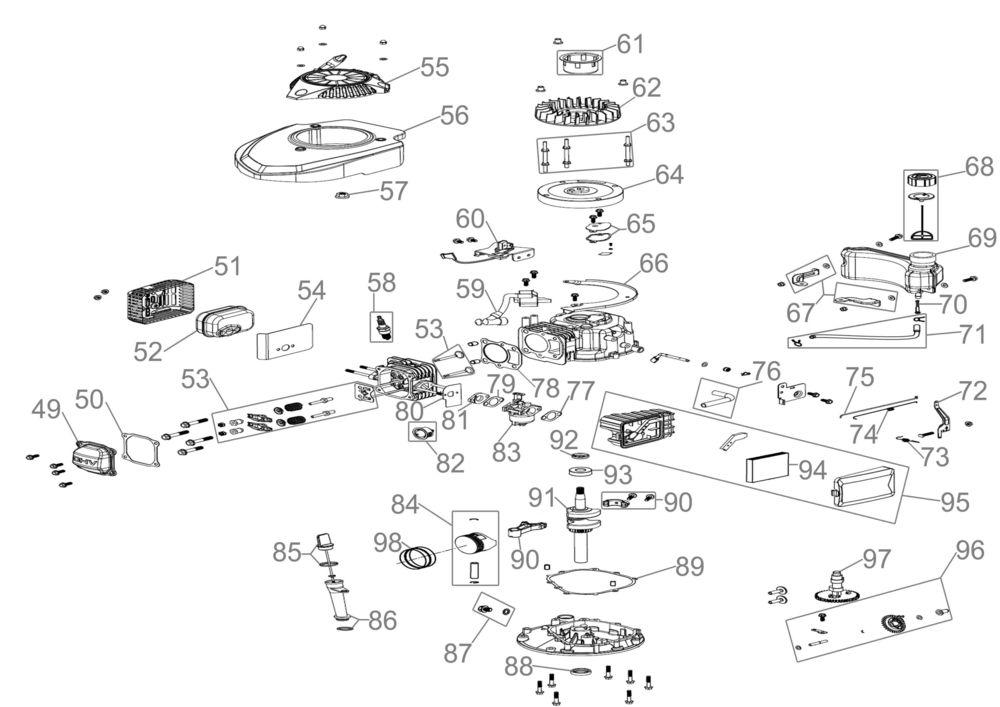 g de rasenm her eco wheeler 415 p2 serie 59671 ersatzteile. Black Bedroom Furniture Sets. Home Design Ideas